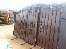 Ворота с  калиткой №21 (4,09+1,05)х2,35м