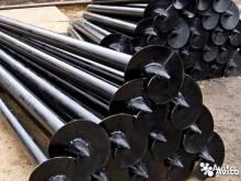 Сваи винтовые 76 х 3.5 мм длина - 2.5 м