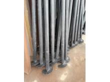 Сваи винтовые 57 х 3,5 мм длина - 2 м