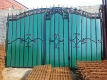 Ворота с  калиткой №21