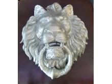 Лев литой с кольцом КТ002