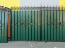 Ворота с калиткой №41