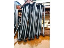 Сваи винтовые 76 х 3,5 мм длина-2 м