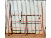 Каркас ворот под профлист 3 х 2 м