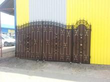 Ворота с калиткой №40