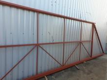 Каркас откатных ворот 4 х 2 м.