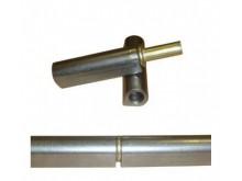Петля каплевидная 10 х 65 мм с шайбой
