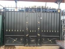 Ворота с калиткой 3,3х2,35м+1м №-14 без столбов