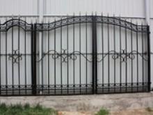 Ворота с калиткой №18