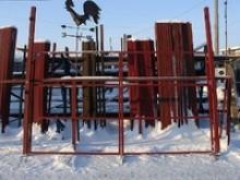 Каркас ворот 4х2м в комплекте столбы