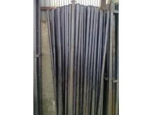 Столб с крючками h-2,4м диаметр-50мм