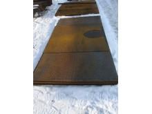 Лист металл  рифленый т-3мм  1,25х2,5м