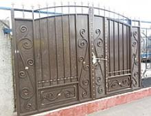 """Ворота """"Дворянские со встроенной калиткой"""" 71413578"""