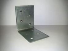Крепежный уголок KUR-50х50х80х2мм