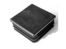 Заглушка 60х60 черная  (пластиковая)