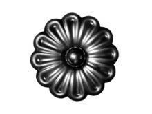 Цветок с шариком D-70мм