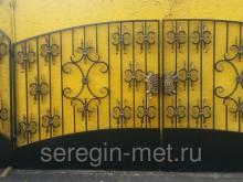 Ворота с  калиткой №23